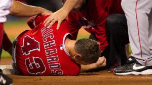 Garrett Richards prp for knee