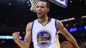 steph curry knee celebrate back 2016 NBA playoffs