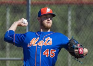 zack wheeler pitcher for New York Mets prp treatment