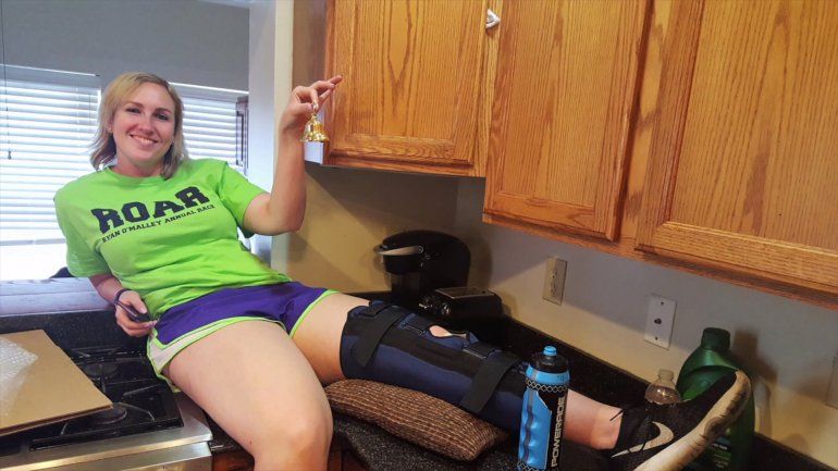 university scranton volleyball player has PRP